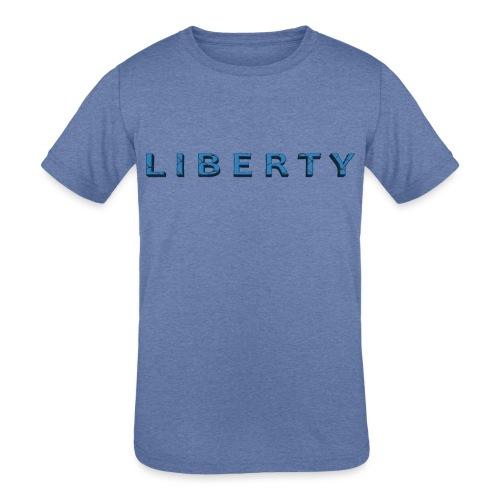 Liberty Libertarian Design - Kids' Tri-Blend T-Shirt