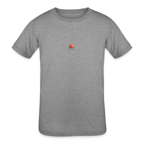 logo for lucas - Kids' Tri-Blend T-Shirt