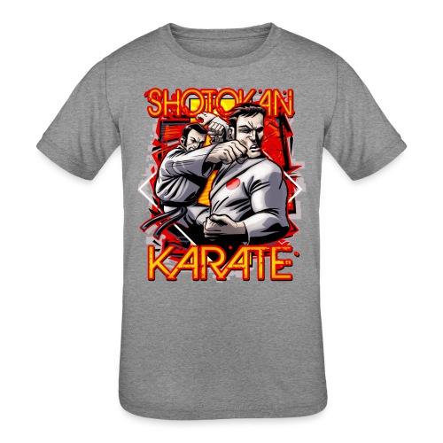 Shotokan Karate - Kids' Tri-Blend T-Shirt