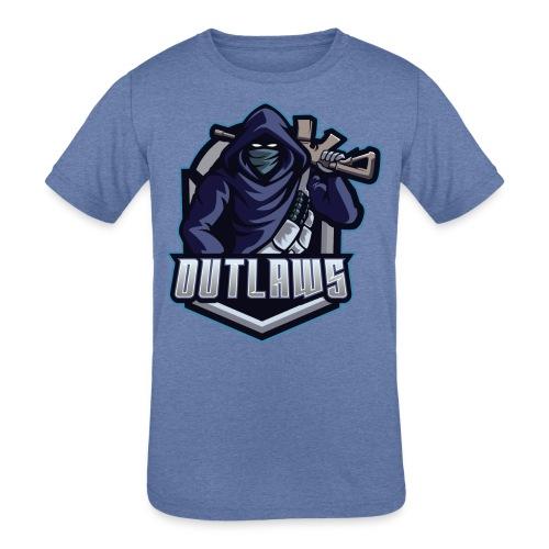 Outlaws Gaming Clan - Kids' Tri-Blend T-Shirt
