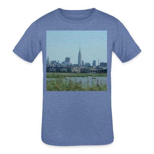 New York - Kids' Tri-Blend T-Shirt