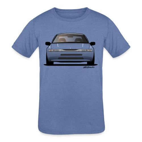 Subaru Alcyone SVX Modern JDM Icon Sticker - Kids' Tri-Blend T-Shirt