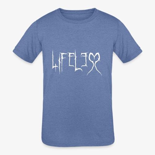 lifeless inv - Kids' Tri-Blend T-Shirt