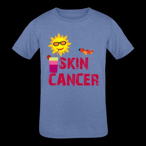SKIN CANCER AWARENESS - Kids' Tri-Blend T-Shirt