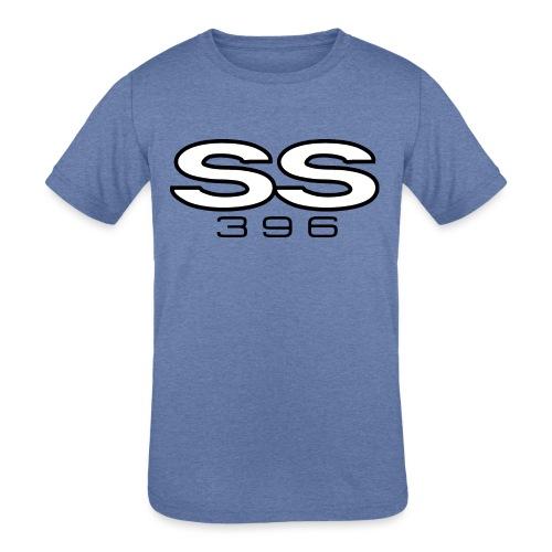 Chevy SS 396 emblem - AUTONAUT.com - Kids' Tri-Blend T-Shirt