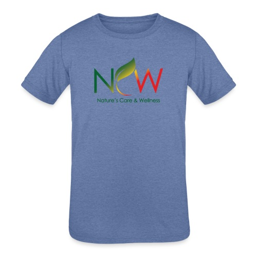 Ncw Big Logo - Kids' Tri-Blend T-Shirt