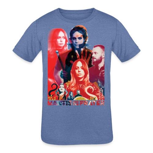 Mantis and the Prayer- Magick Image - Kids' Tri-Blend T-Shirt