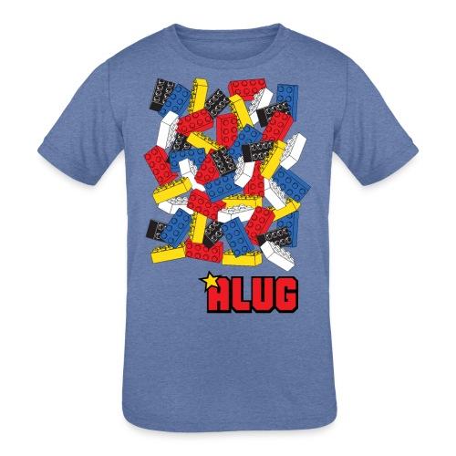 Brick03Colour - Kids' Tri-Blend T-Shirt