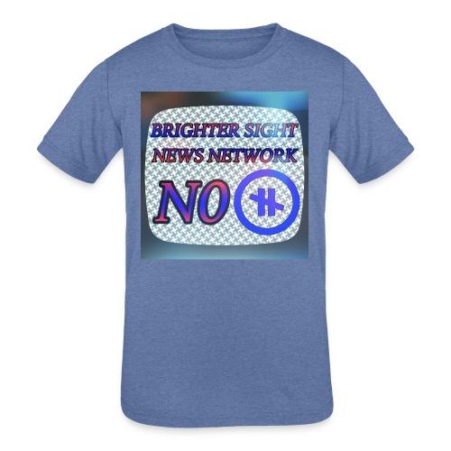 NO PAUSE - Kids' Tri-Blend T-Shirt