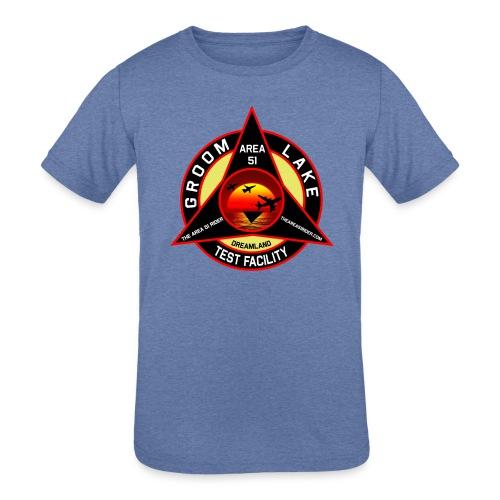 THE AREA 51 RIDER CUSTOM DESIGN - Kids' Tri-Blend T-Shirt