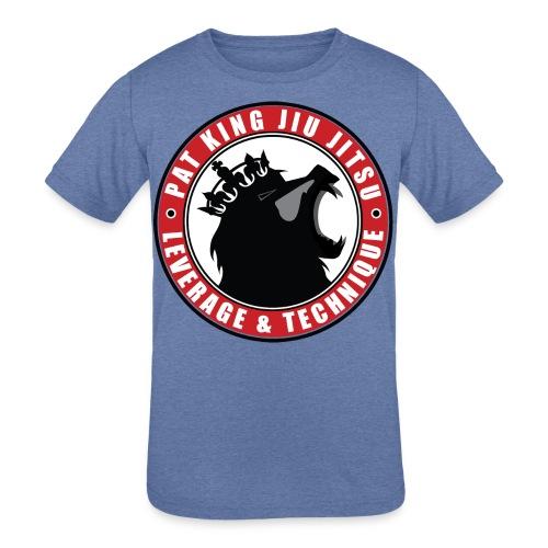 PK Merch grey22 - Kids' Tri-Blend T-Shirt