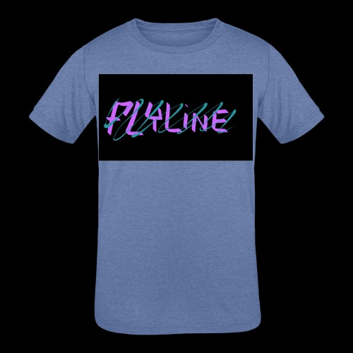 Flyline fun style - Kids' Tri-Blend T-Shirt