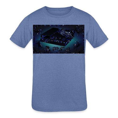 ps4 back grownd - Kids' Tri-Blend T-Shirt