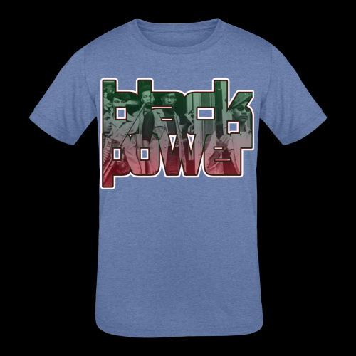 Black Power - Kids' Tri-Blend T-Shirt