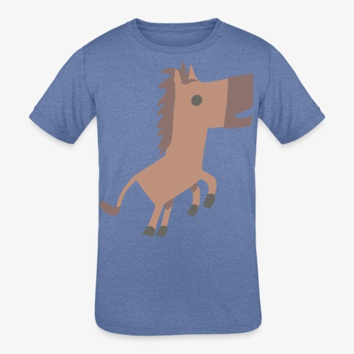 Horse - Kids' Tri-Blend T-Shirt