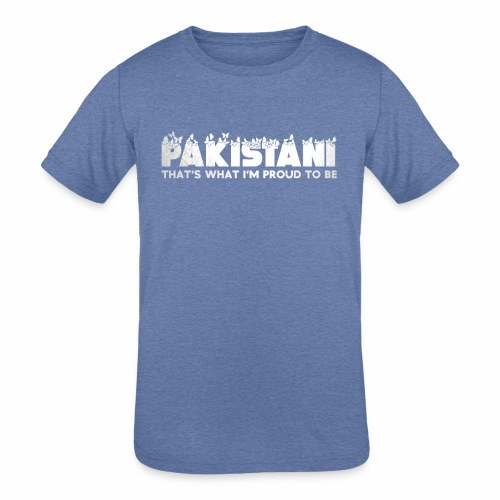 14th August Independence Day - Kids' Tri-Blend T-Shirt