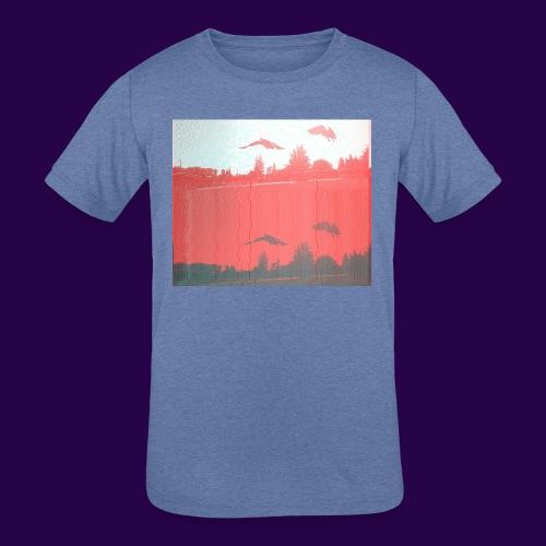 Ahiru - Kids' Tri-Blend T-Shirt