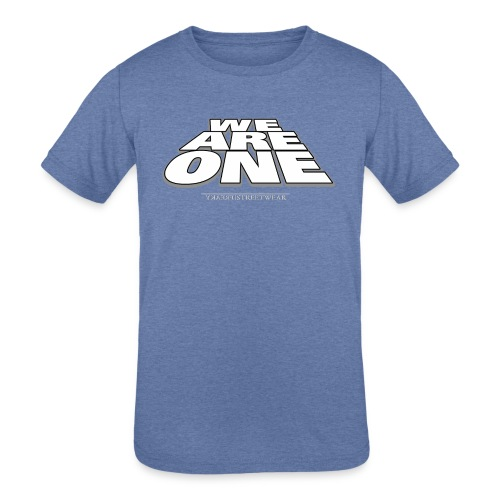 We are One 2 - Kids' Tri-Blend T-Shirt