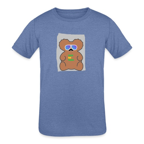 Aussie Dad Gaming Koala - Kids' Tri-Blend T-Shirt
