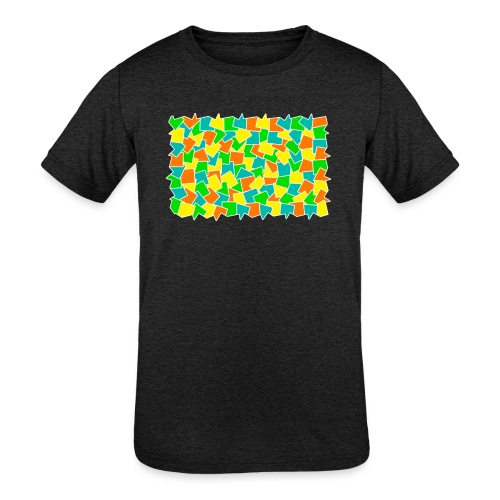 Dynamic movement - Kids' Tri-Blend T-Shirt