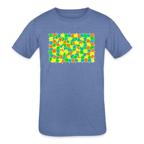 Dynamic movement - Kids' Tri-Blend T-Shirt