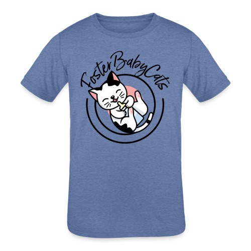 FosterBabyCats Logo - Kids' Tri-Blend T-Shirt