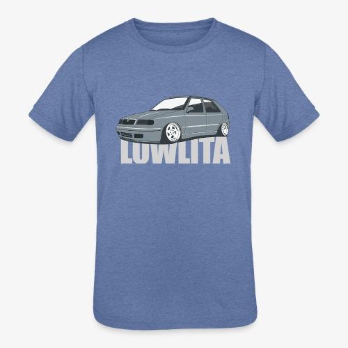 felicia lowlita - Kids' Tri-Blend T-Shirt