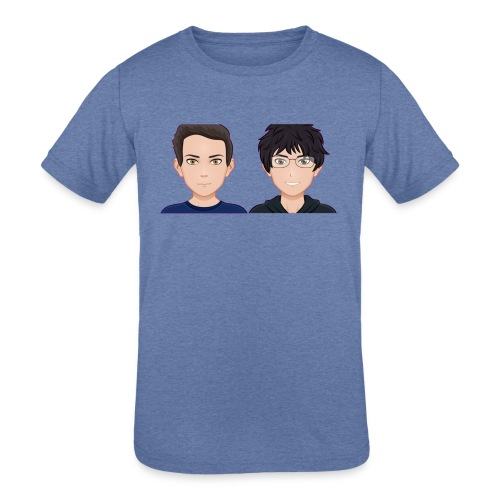 Sun-Both - Kids' Tri-Blend T-Shirt