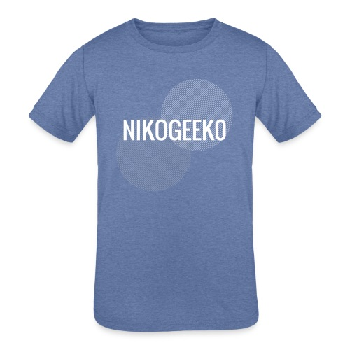 Nikogeek0 - Kids' Tri-Blend T-Shirt