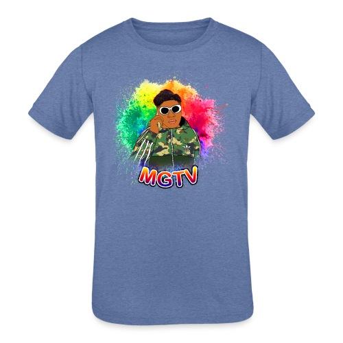 NEW MGTV Clout Shirts - Kids' Tri-Blend T-Shirt