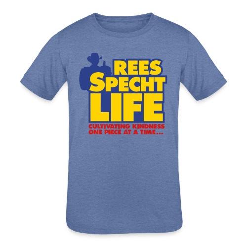 smallvectorsimple - Kids' Tri-Blend T-Shirt