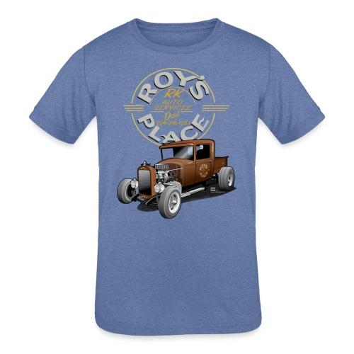 RoysRodDesign052319_4000 - Kids' Tri-Blend T-Shirt