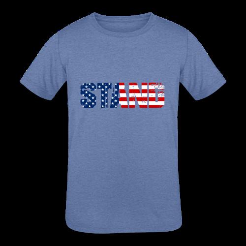 STAND - Kids' Tri-Blend T-Shirt