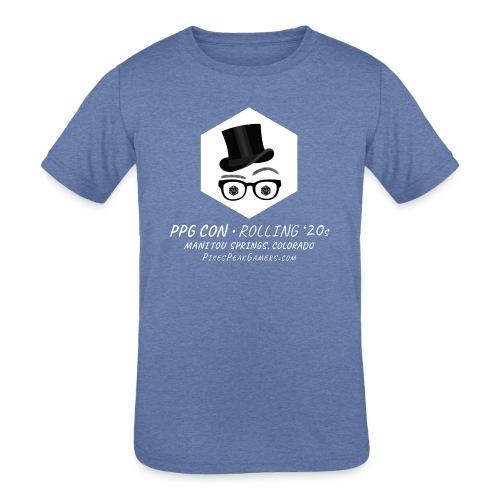 Pikes Peak Gamers Convention 2020 - Kids' Tri-Blend T-Shirt