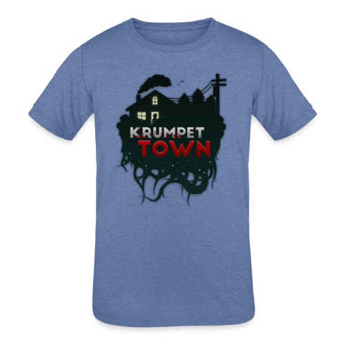 Krumpet Town - Kids' Tri-Blend T-Shirt