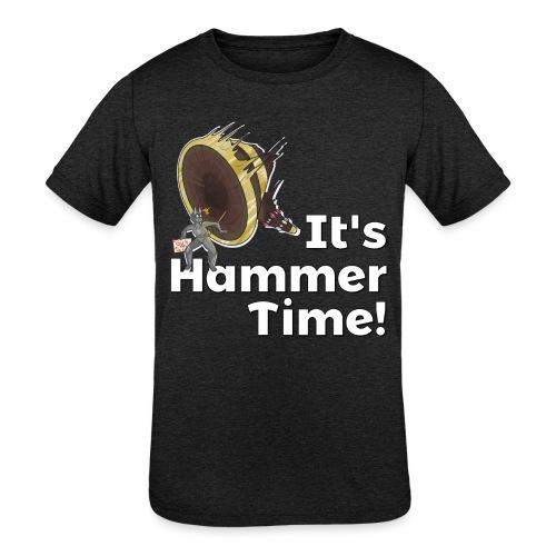 It's Hammer Time - Ban Hammer Variant - Kids' Tri-Blend T-Shirt