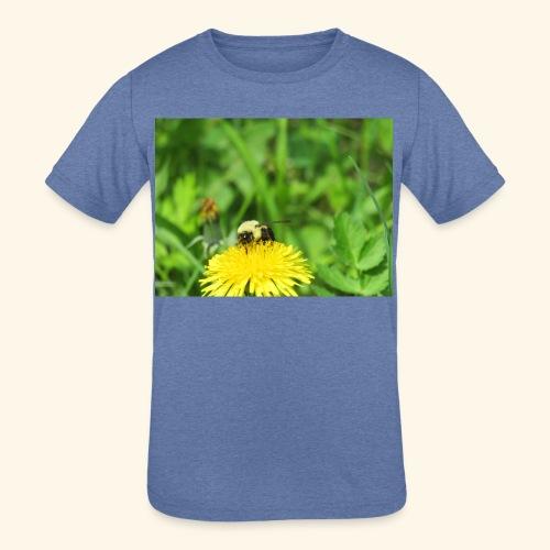 Dandelion Bee - Kids' Tri-Blend T-Shirt