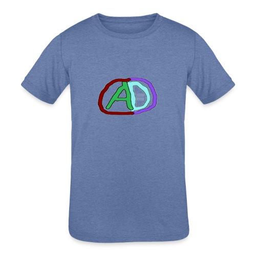 hoodies with anmol and daniel logo - Kids' Tri-Blend T-Shirt