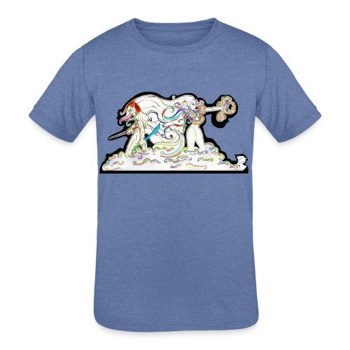 MD At Your Side - Kids' Tri-Blend T-Shirt