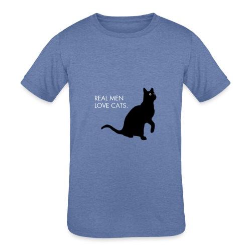 Real Men... - Kids' Tri-Blend T-Shirt