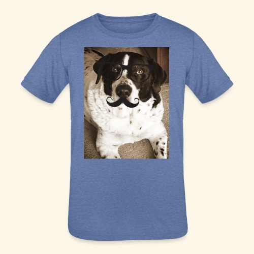 Old Pongo - Kids' Tri-Blend T-Shirt