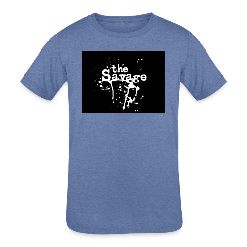 the savage - Kids' Tri-Blend T-Shirt