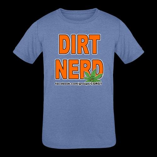 Dirt Nerd - Kids' Tri-Blend T-Shirt