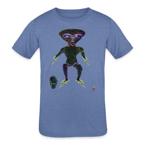 AlienToe - Kids' Tri-Blend T-Shirt