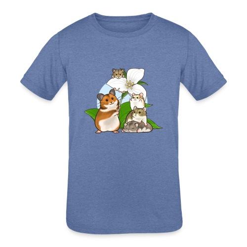 Ontario Hamster Club - Kids' Tri-Blend T-Shirt