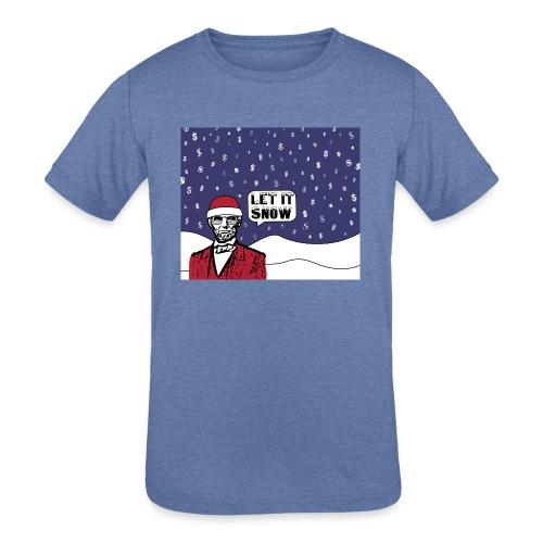 Let It Snow - Kids' Tri-Blend T-Shirt