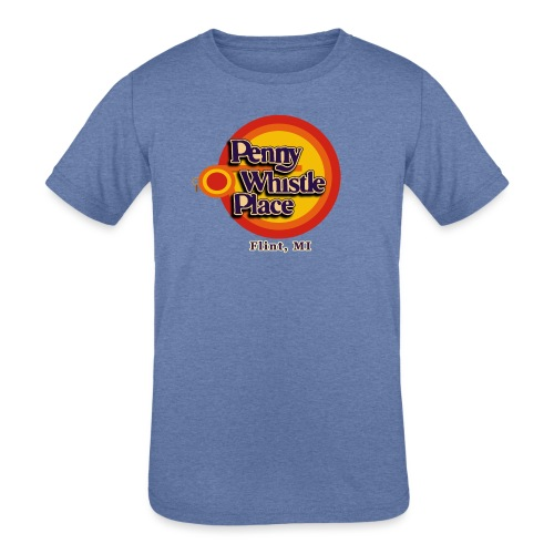 Penny Whistle Place - Kids' Tri-Blend T-Shirt