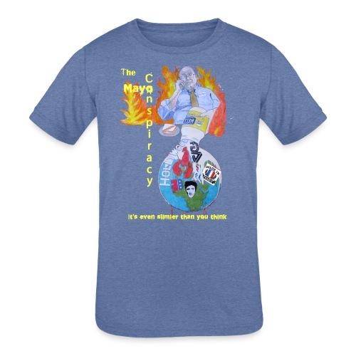 Mayo-Conspiracy - Kids' Tri-Blend T-Shirt