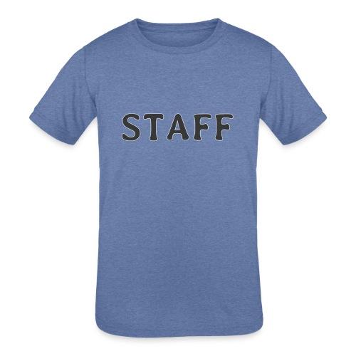 Staff - Kids' Tri-Blend T-Shirt