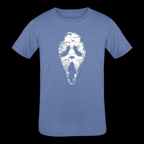 Reaper Screams | Scary Halloween - Kids' Tri-Blend T-Shirt